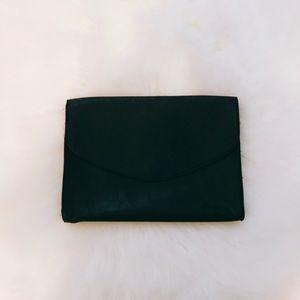 Forever 21 Large Black Envelope Clutch